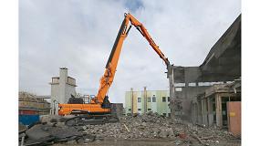 Foto de Doosan incorpora el modelo DX530DM a la gama de excavadoras de demolición