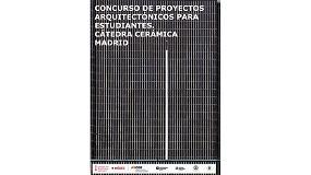 Foto de Concurso de proyectos arquitectónicos en la Cátedra Cerámica de Madrid