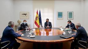 Foto de Sánchez analiza la nueva PAC con el sector agrario