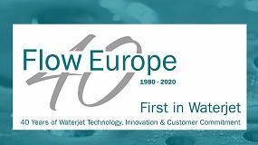 Foto de Flow Waterjet cumple su 40ª aniversario en Europa