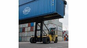 Foto de La solución de manipulación de contenedores dobles de Hyster ayuda a impulsar la productividad en los puertos