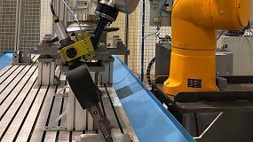 Foto de Ideko trabaja en una solución robótica para el acabado preciso y fiable de piezas complejas