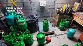 Foto de C N I colabora con el Servicio de Vigilancia Aduanera en la desarticulación de redes de tráfico de gases fluorados