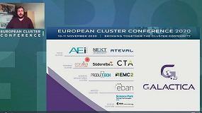 Foto de La AEI Tèxtils participa activamente en la European Cluster Conference 2020