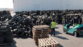 Foto de TNU garantiza y cumple la recogida de neumáticos fuera de uso en Canarias