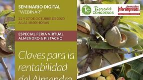 Foto de Horticultura y Tierras analizaron en un webinar las claves en la rentabilidad del almendro y el pistacho