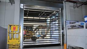 Foto de Efaflex se encarga del proyecto y el montaje rápido de puertas de cierre de naves en Robert Hofmann GmbH