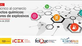 Foto de Jornada 'Control técnico al comercio de productos químicos: Precursores de explosivos' de Feique e Icex