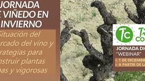Foto de Webinar: Las claves del mercado del vino para 2021 y estrategias para construir plantas sanas y longevas