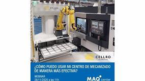 Foto de MAQcenter organiza el webinar '¿Cómo puedo usar mi centro de mecanizado de manera más efectiva?'