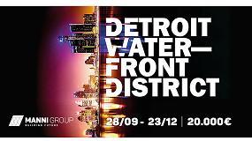 Foto de El skyline de Detroit, objeto de la segunda edición del Concurso de Arquitectura Manni Group Design Award