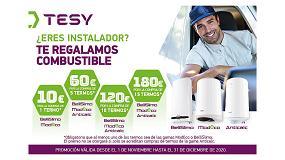 Foto de Tesy regala combustible en su nueva promoción para instaladores