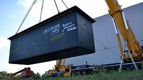 Foto de Joskin sustituye la cuba de zinc de su unidad de galvanización en Polonia