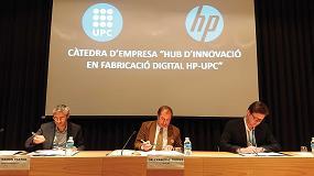 Foto de La UPC y HP crean la cátedra de empresa 'Hub de Innovación en Fabricación Digital HP-UPC'