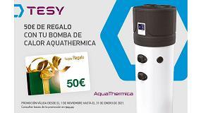 Foto de Tesy lanza su primera promoción a cliente final por la compra de sus bombas de calor Aquathermica