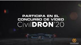 Foto de Interempresas Media colabora en el I Concurso de Vídeo CivilDRON'20, lanzado por Fenercom