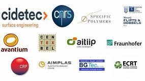 """Foto de El proyecto europeo Ecoxy desarrolla resinas y fibras de origen """"bio"""" para producir piezas reciclables, reprocesables y reparables"""