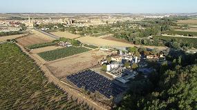 Foto de Las depuradoras navarras comenzarán a abastecerse de energía solar para evitar la emisión de 116 toneladas de CO2