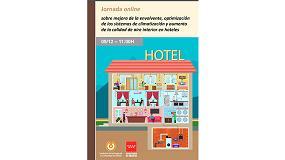 Foto de Jornada online sobre 'Mejora de la envolvente, optimización de los sistemas de climatización y aumento de la calidad de aire interior en hoteles'