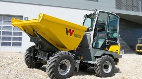 """Foto de Nuevos modelos de dumpers de WackerNeuson para """"una mayor productividad, seguridad y confort"""""""
