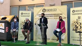 Foto de Valencia se convierte en la ciudad con mayor población en España en implantar Reciclos, el sistema de reciclaje con recompensa de Ecoembes