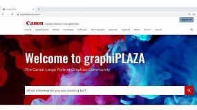 Foto de Canon lanza Graphiplaza, una comunidad online de gráficos de gran formato