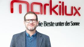 Foto de Entrevista a Peer Cornelssen, jefe del departamento de ventas internacionales de markilux