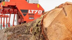Foto de Wood-Mizer lanza la nueva línea de aserraderos LT70 Heavy Duty