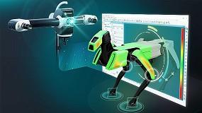 Foto de Nueva interface especializada PolyWorks para escáneres de luz Hexagon