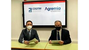 Foto de Acuerdo de colaboración entre Agremia y COGITIM