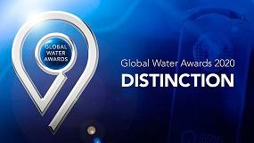 Foto de Acciona, galardonada en los premios Global Water Intelligence 2020