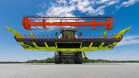 Foto de Los cabezales convencionales en cosechadoras de grano