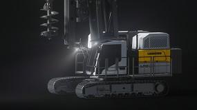 Foto de Liebherr lanza tres nuevas máquinas y un nuevo diseño