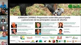 Foto de Éxito en el webinar de Caprino con 490 ganaderos y técnicos inscritos