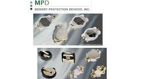 Foto de Línea de portapilas y soportes para aplicación médica
