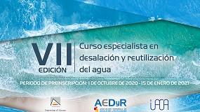 Foto de La primera y única titulación universitaria para especializarse en desalación y reutilización del agua