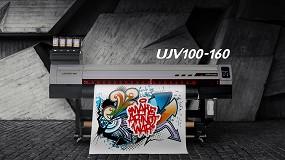 Foto de La Mimaki UJV100-160, premiada como la mejor impresora rotativa por EDP