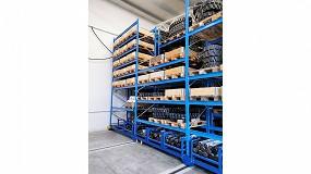 Foto de Ketten Gép: 60% más de capacidad de almacenamiento gracias a estanterías móviles