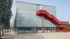 Foto de Technal en el nuevo Aulario Runnymede College de Madrid