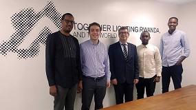 Foto de Salvi lighting inaugura su cuarto centro de producción en la capital de Ruanda