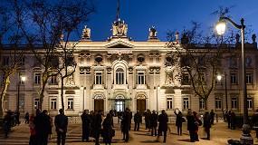 Foto de El Tribunal Supremo estrena nueva iluminación con soluciones de Schréder