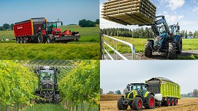 Foto de Tractor of the Year 2021 para Massey Ferguson, Valtra, Fendt y Claas
