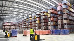 Foto de AR Racking logra 35.500 posiciones para el nuevo almacén de Boughey Distribution