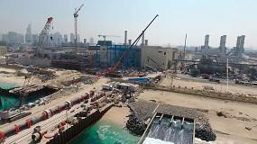 Foto de Acciona produce el primer metro cúbico de agua potable en la desaladora de Jebel Ali en Dubái (EAU)