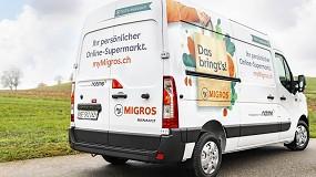 Foto de Migros adquiere 45 Master ZE de Renault Trucks para su logística sostenible