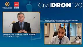 Foto de El análisis más exhaustivo sobre drones: CivilDRON'20 concluye con éxito su sexta edición