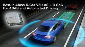 Foto de Renesas acelera el desarrollo de la conducción automatizada con el sistema R-Car V3U ASIL D en chip