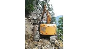Foto de Las excavadoras de cadenas de Case trabajan por toda Europa
