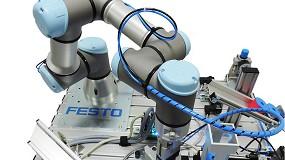 Foto de Festo lanza un pack formativo en colaboración con Universal Robots