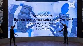Foto de Epson inaugura su nuevo Industrial Solutions Centre virtual para clientes y partners de toda Europa